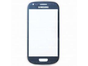 Samsung Galaxy S3 Mini sklo dotykové, čelní, modré i8190