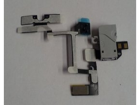 IPhone 4 konektor sluchátek s flex kabelem, bílý