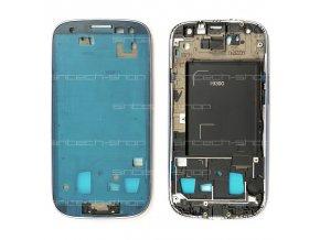 Samsung Galaxy S3  i9300 přední rám, modrý