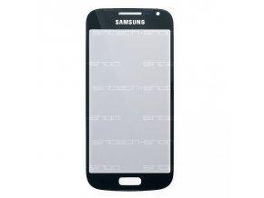 Samsung Galaxy S4 Mini sklo dotykové, čelní, černomodré (night blue) i9190/9195