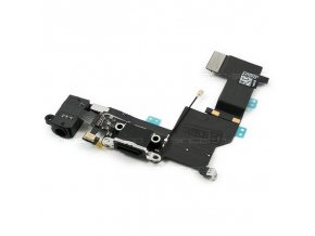 iPhone 5S nabíjecí konektor Lightning port se sluchátkovým jackem a mikrofonem černý