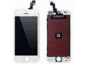 iPhone 5S SINTECH© Premium čelní díl s LCD - bílý