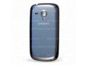 Samsung Galaxy S3 Mini i8190 / i8195 kryt baterie, modrý