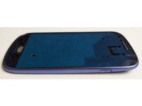 Samsung Galaxy S3 Mini i8190 přední rám, modrý