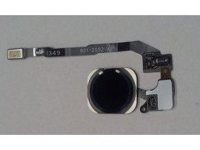 iPhone 5S/SE černý Home Button včetně flex kabelu