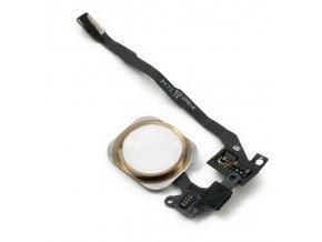 iPhone 5S/SE zlatý Home Button včetně flex kabelu