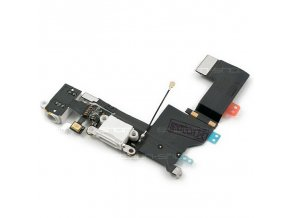 iPhone 5S Lightning port se sluchátkovým jackem a mikrofonem bílý