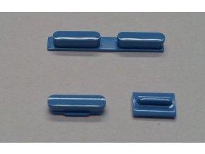 Set tlačítek pro iPhone 5C, modrý