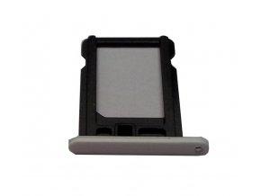 iPhone 5C bílý nano SIM držák