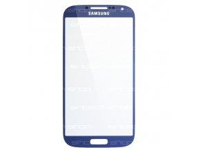 Samsung Galaxy S4 sklo dotykové, čelní, modré (Blue Arctic)