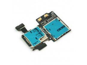 SAMSUNG GALAXY S4 i9505 slot SIM karty a SD karty