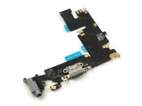 """iPhone 6 Plus (5,5"""") docking port se sluchátkovým jackem a mikrofonem, šedý"""