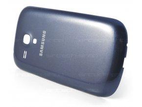 Samsung Galaxy S3 Mini i8190 / i8195 zadní kryt baterie, modrý - použitý