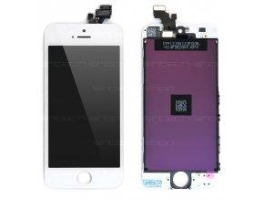 iPhone 5 LCD displej + dotyk - bílý