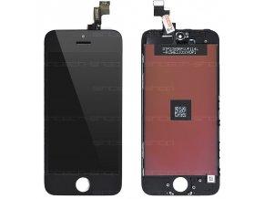 iPhone 5S čelní díl s LCD - černý