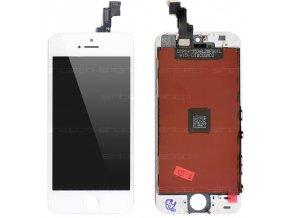 iPhone 5S čelní díl s LCD - bílý