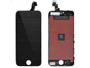 iPhone 5C čelní díl s LCD - černý