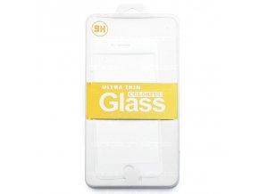 Ochranné tvrzené sklo bílé pro iPhone 6/6S
