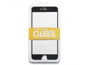 Ochranné tvrzené sklo černé pro iPhone 6 Plus/6S Plus
