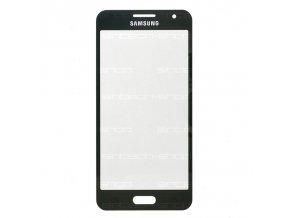 Samsung Galaxy A3 2015 (A300F) čelní dotykové sklo, černé (Midnight Black)
