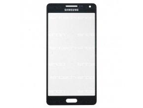 Samsung Galaxy A5 (A500F) čelní dotykové sklo, černé (Midnight black)
