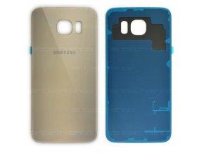 Samsung Galaxy S6 G920F zadní skleněný kryt, zlatý
