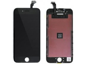 """iPhone 6 (4,7"""") LCD displej s rámem a dotykem, černý"""