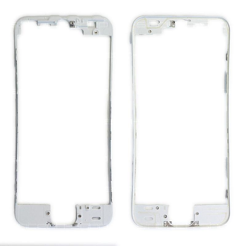iPhone 5S čelní rámeček skla bílý