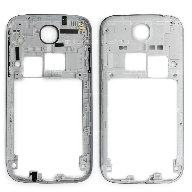 Samsung Galaxy S4 i9505 středový rám stříbrný