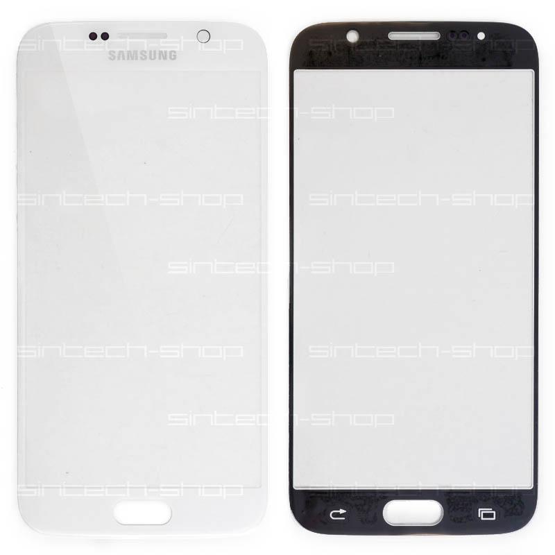 Samsung Galaxy S6 G920 bílý, čelní sklo