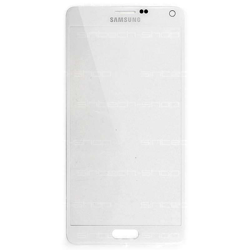 Samsung Galaxy Note 4 bílý, čelní sklo
