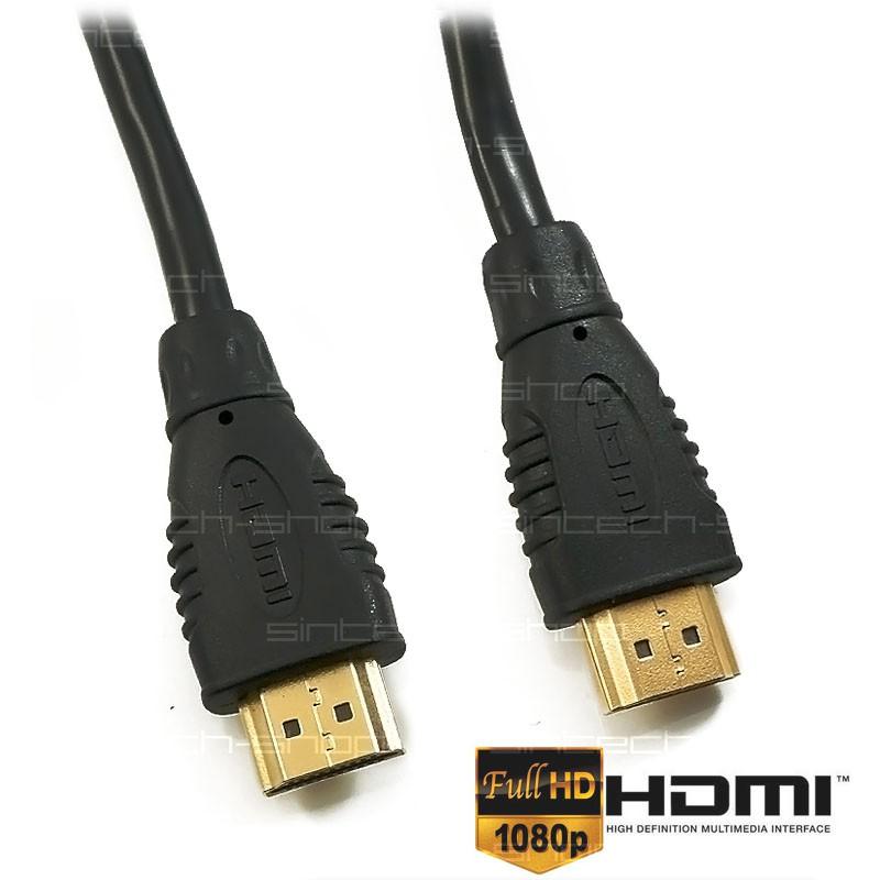 HDMI-HDMI 1.4 kabel 15m POZLACENÉ KONEKTORY