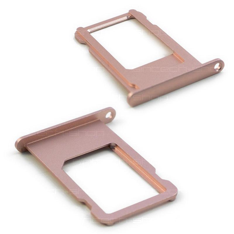 iPhone 6S držák nano SIM karty, růžový