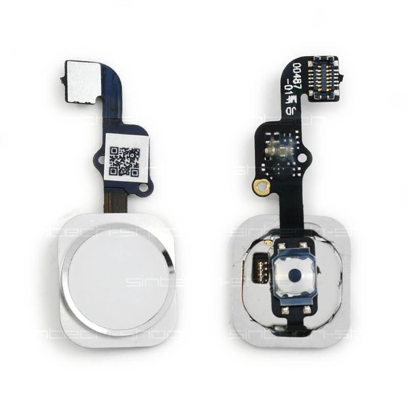 iPhone 6S / 6S Plus Home Button včetně flex kabelu - stříbrný