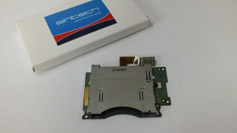 Nintendo NEW 3DS slot paměťové karty
