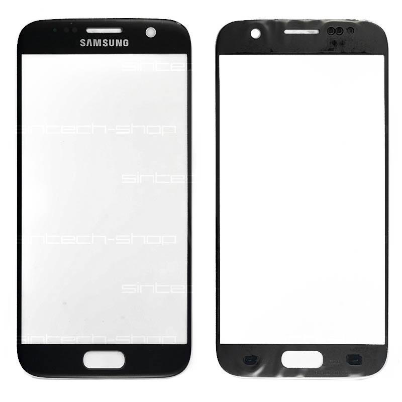 Samsung Galaxy S7 G930F černé čelní dotykové sklo