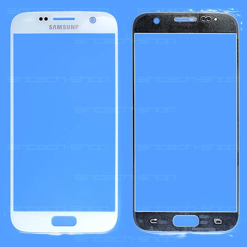 Samsung Galaxy S7 G930F bílé čelní dotykové sklo