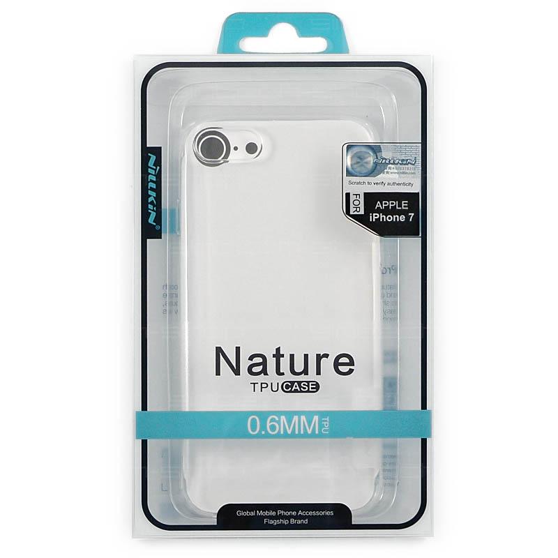 "Nillkin Nature TPU pouzdro pro iPhone 7/8 (4,7"") průhledné"