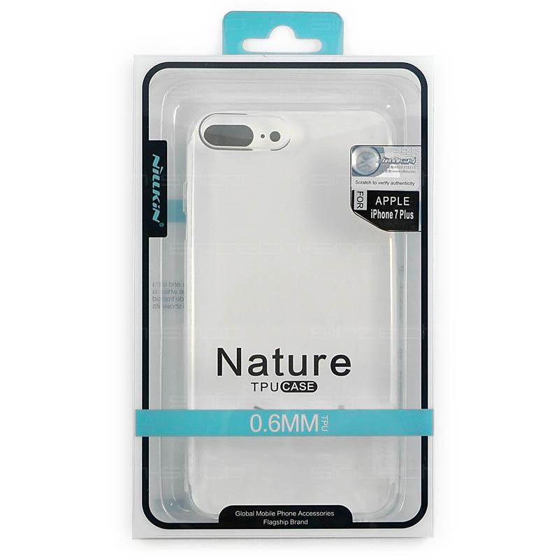 "Nillkin Nature TPU pouzdro pro iPhone 7 Plus / 8 Plus (5,5"") průhledné"