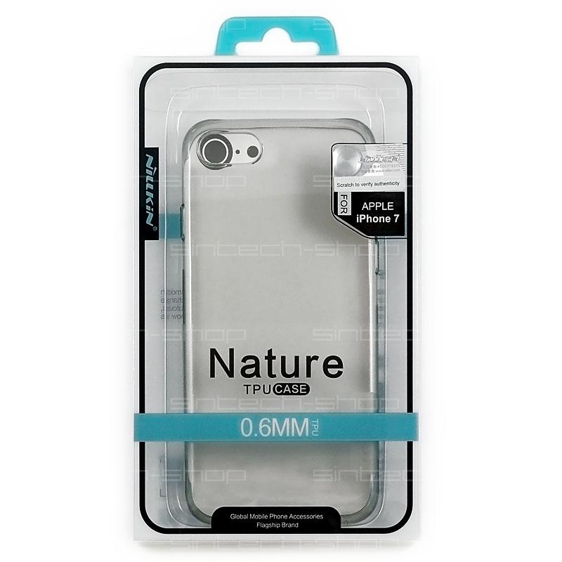 "Nillkin Nature TPU pouzdro pro iPhone 7/8 (4,7"") šedé"