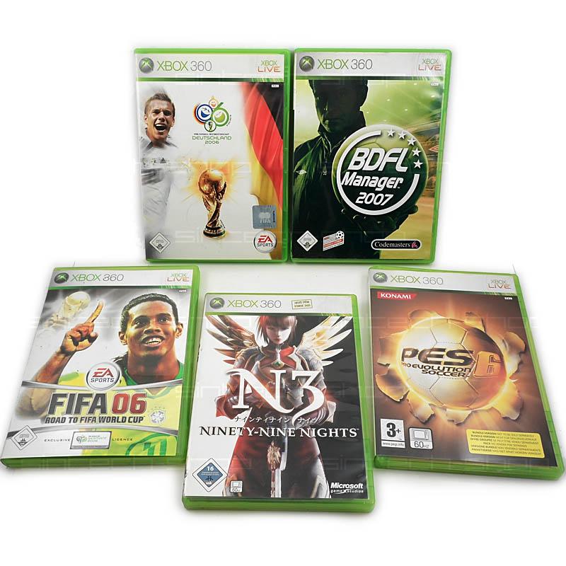 Hry pro xbox 360, SET 5ks (FIFA06...)