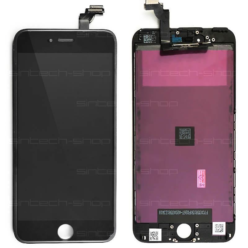 "iPhone 6 Plus (5,5"") LCD displej s rámem a dotykem OEM, černý"