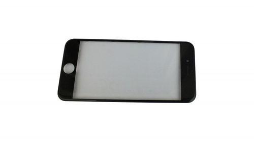 iPhone 7 čelní dotykové sklo s rámem a OCA lepící vrstvou PREMIUM - černé