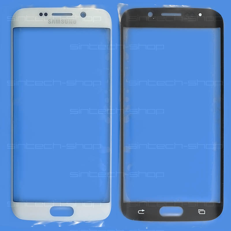 Samsung Galaxy S6 Edge G925 bílé, čelní dotykové sklo