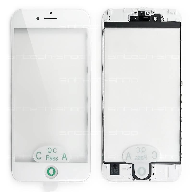 """iPhone 6S (4,7"""") čelní dotykové sklo s rámem a OCA lepící vrstvou PREMIUM - bílé"""