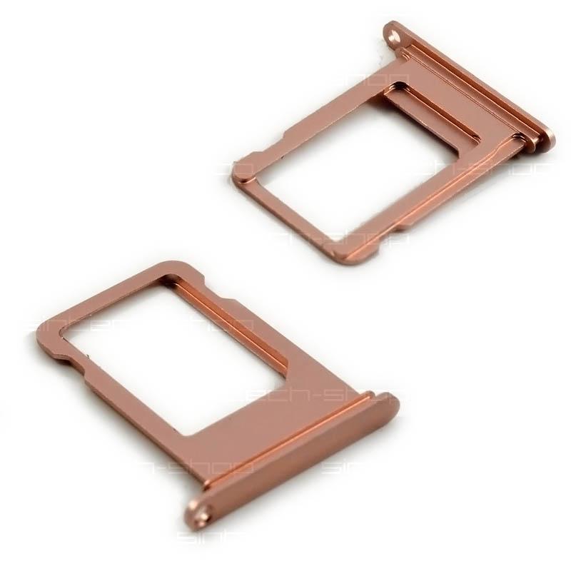 iPhone 7 držák nano SIM karty, růžový