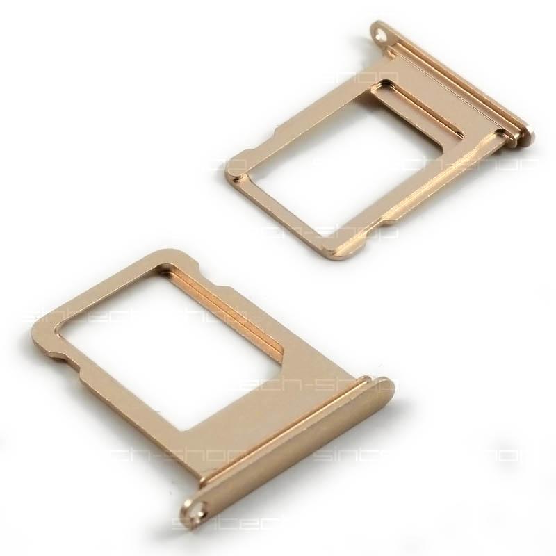 iPhone 7 držák nano SIM karty, zlatý