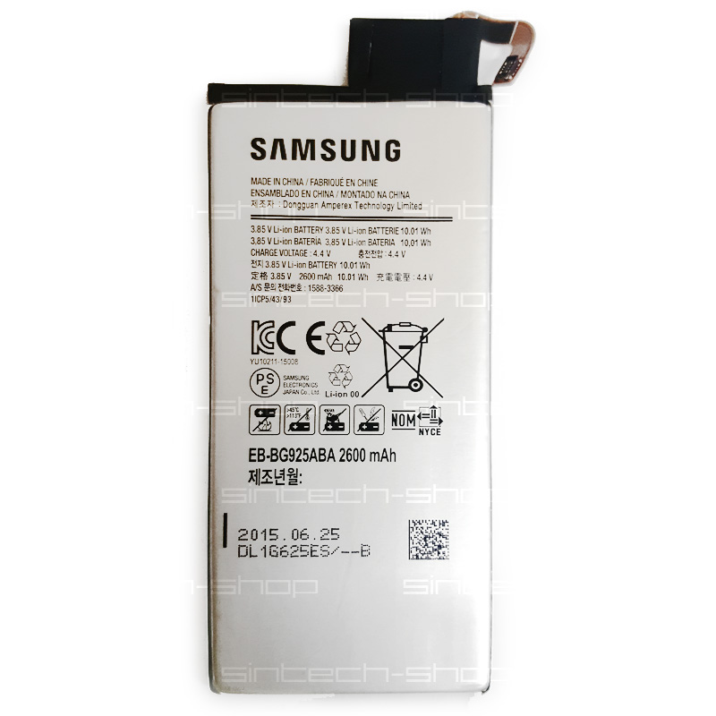 Samsung Galaxy S6 Edge G925 ORIGINÁLNÍ baterie