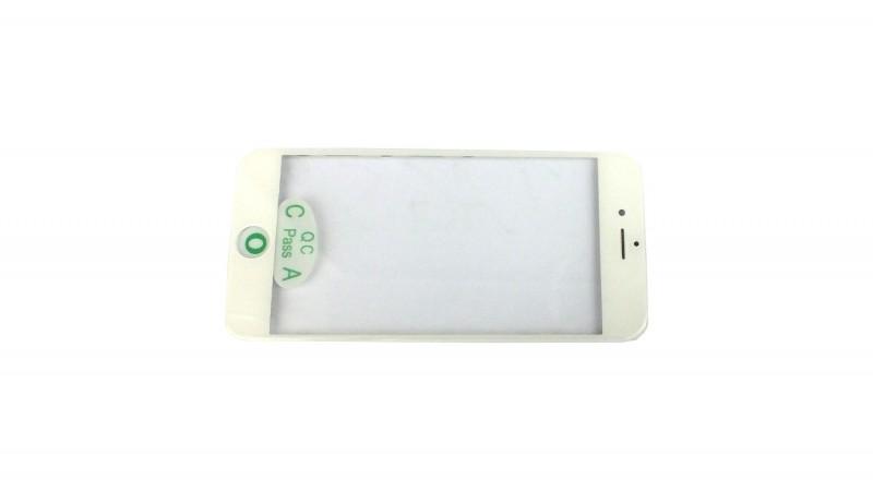 """iPhone 6 Plus (5,5"""") čelní dotykové sklo s rámem a OCA lepící vrstvou PREMIUM - bílé"""