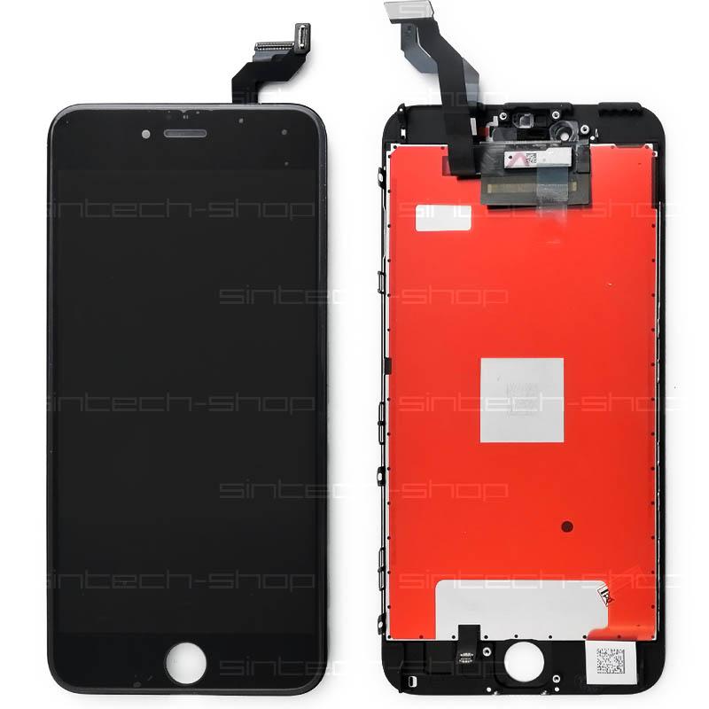 "iPhone 6S Plus (5,5"") LCD displej s rámem a dotykem, černý"